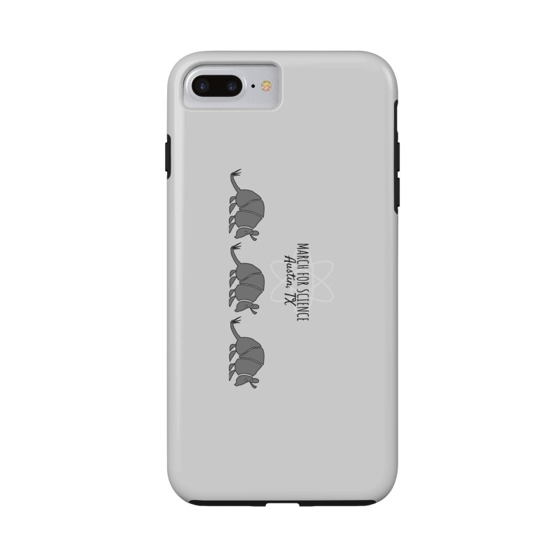 Armadillos Marching in iPhone 8 Plus Phone Case Tough by marchforscienceaustin's Artist Shop