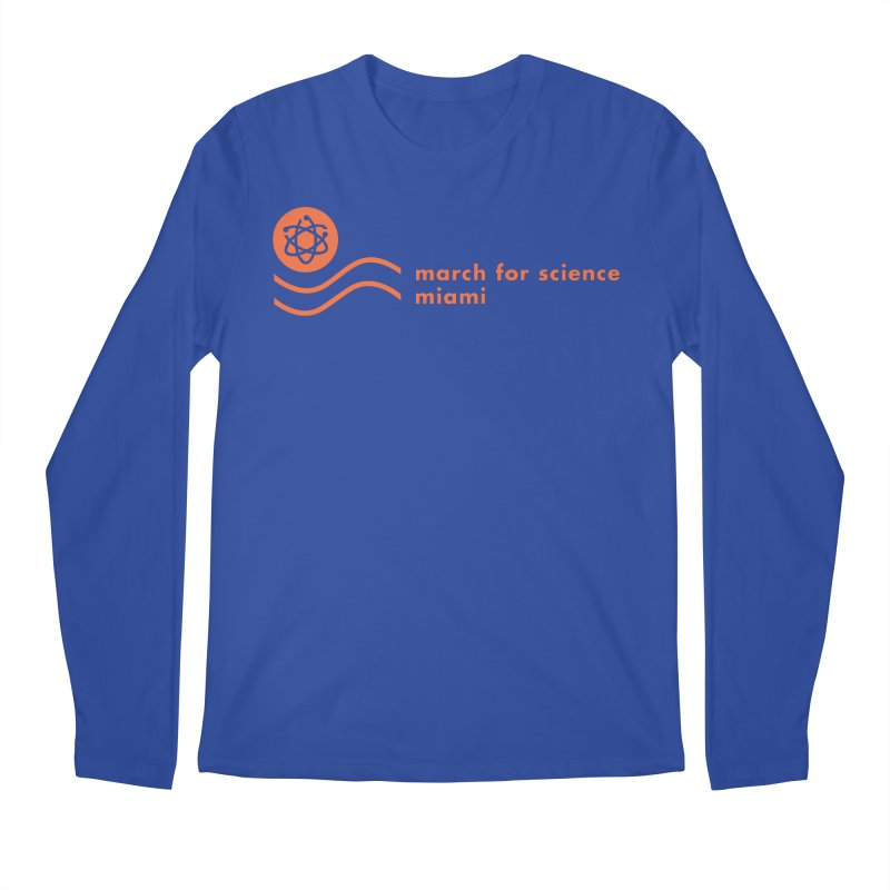 March For Science in Men's Regular Longsleeve T-Shirt Royal Blue by March for Science Miama, FL
