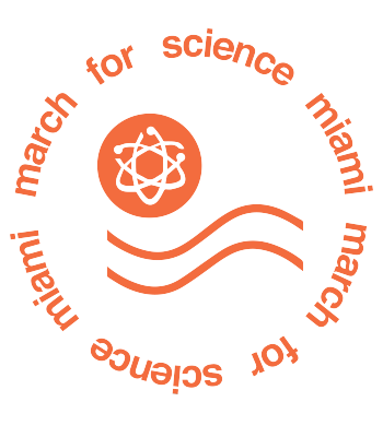 March for Science Miama, FL Logo