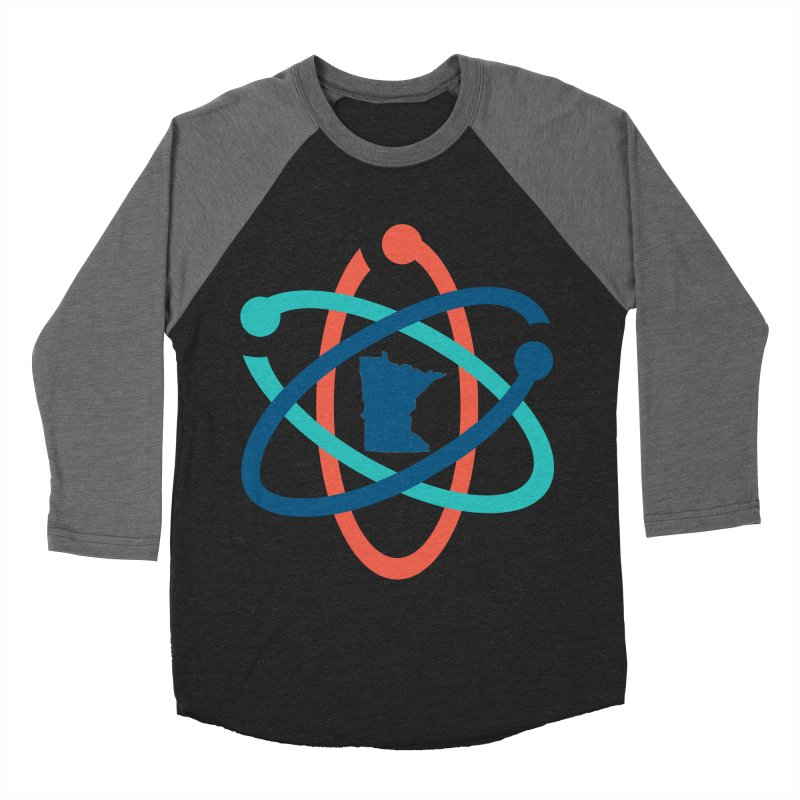 March for Science (no words) Women's Baseball Triblend Longsleeve T-Shirt by March for Science Minnesota Swag