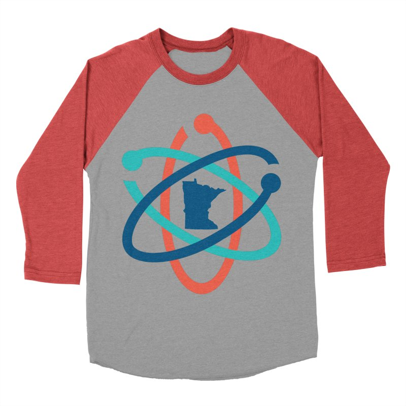 March for Science (no words) Men's Baseball Triblend T-Shirt by March for Science Minnesota Swag