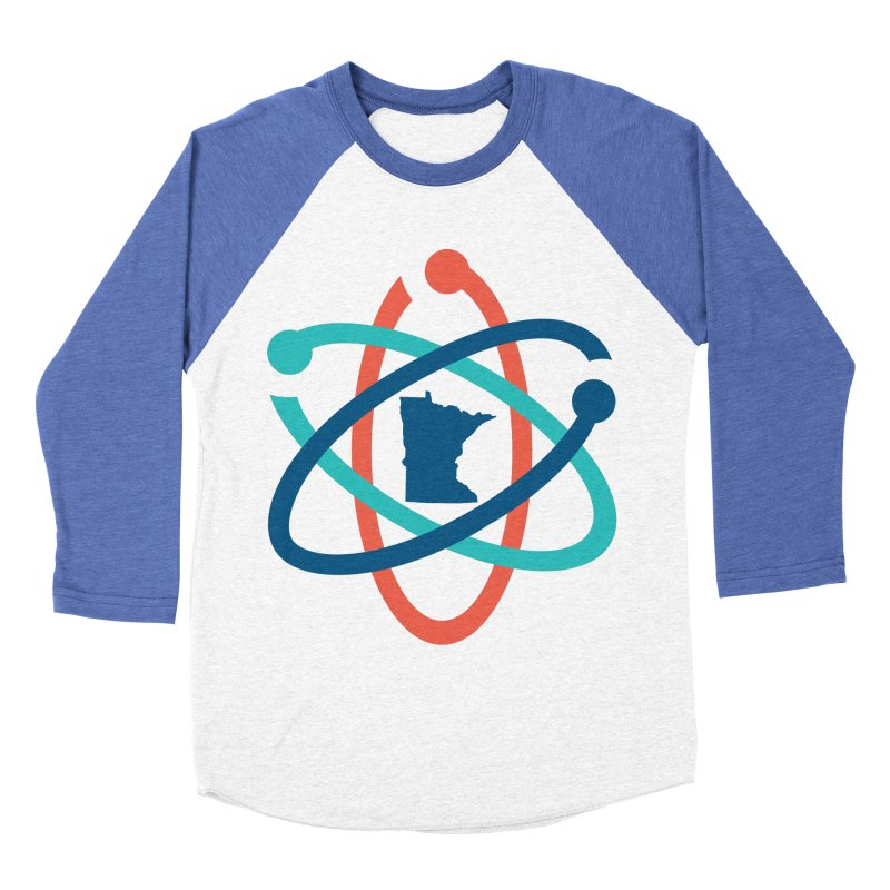 March for Science (no words) Men's Baseball Triblend Longsleeve T-Shirt by March for Science Minnesota Swag