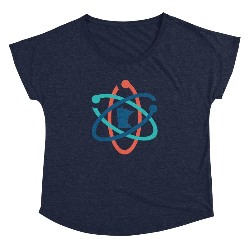 March for Science (no words) Women's Dolman Scoop Neck by March for Science Minnesota Swag