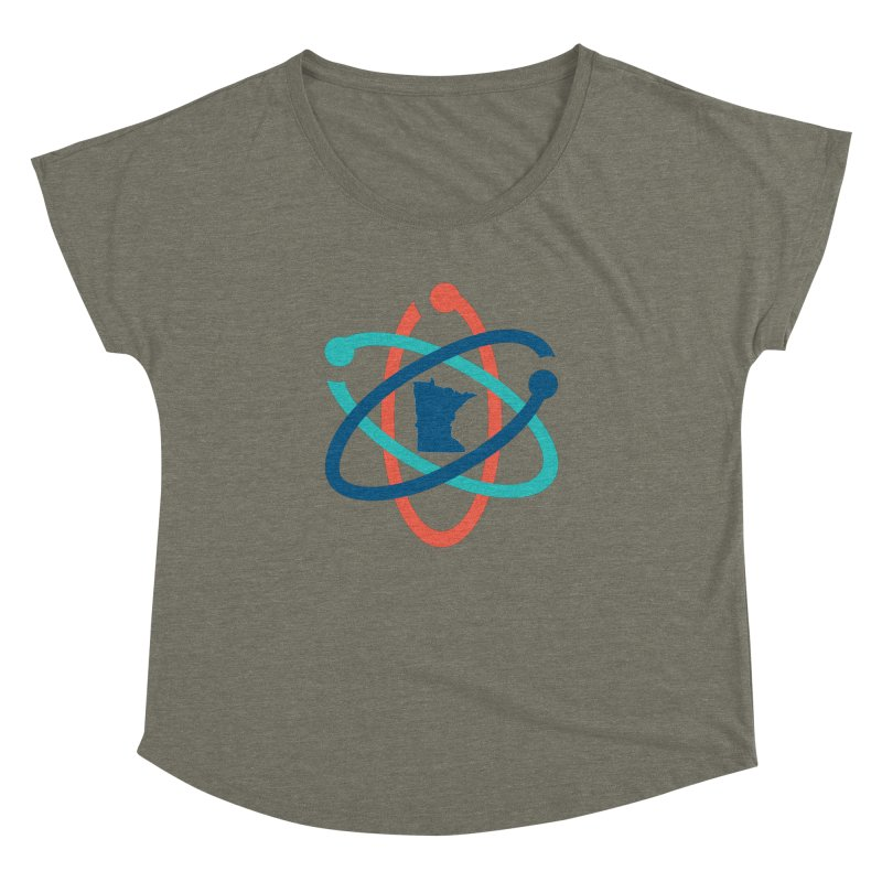 March for Science (no words) Women's Dolman by March for Science Minnesota Swag