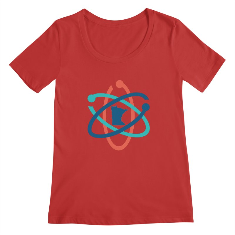 March for Science (no words) Women's Regular Scoop Neck by March for Science Minnesota Swag