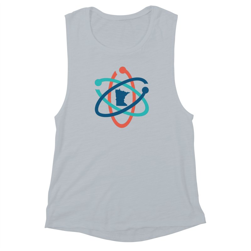 March for Science (no words) Women's Muscle Tank by March for Science Minnesota Swag
