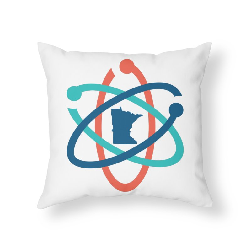 March for Science (no words) Home Throw Pillow by March for Science Minnesota Swag
