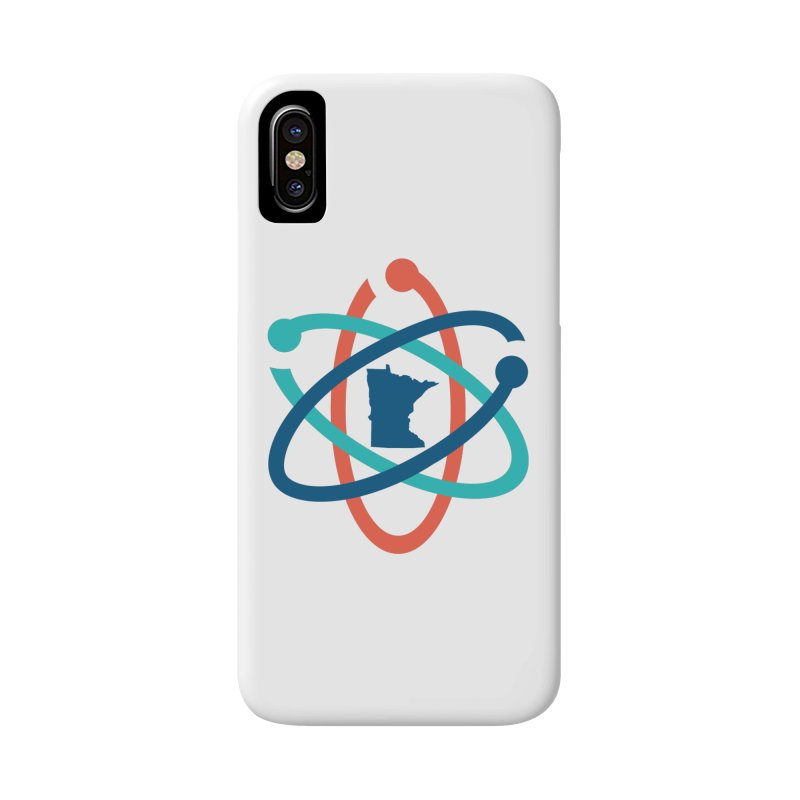March for Science (no words) in iPhone X / XS Phone Case Slim by March for Science Minnesota Swag