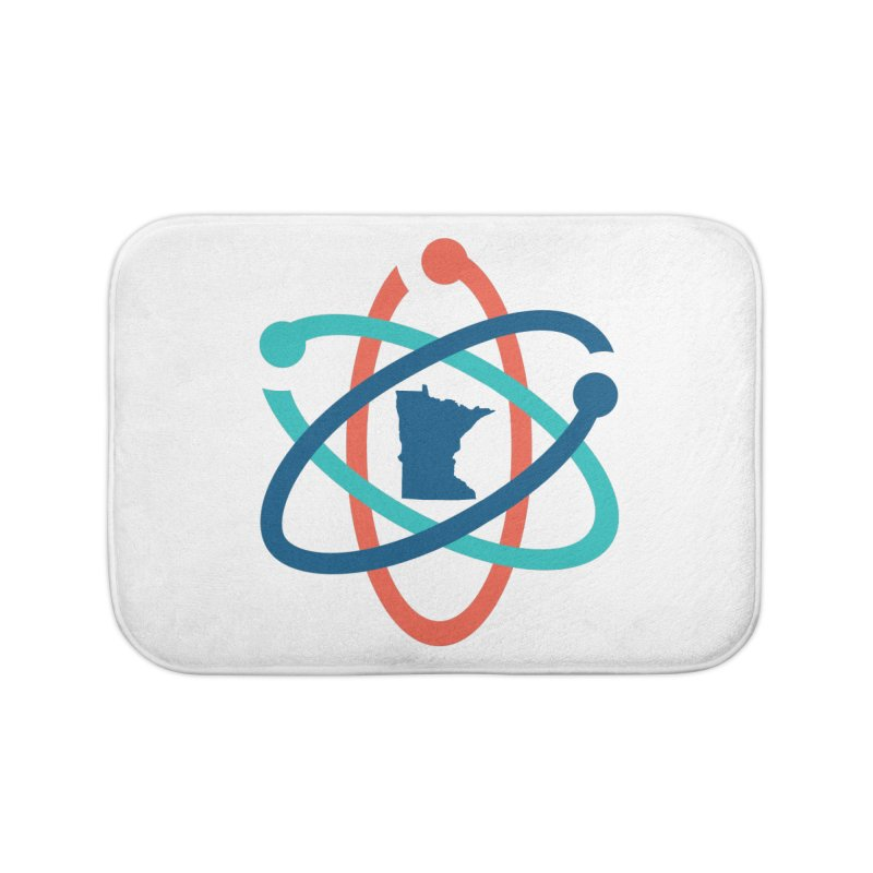 March for Science (no words) Home Bath Mat by March for Science Minnesota Swag