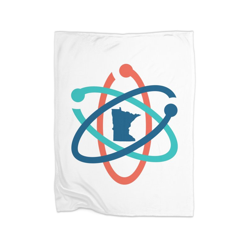 March for Science (no words) Home Fleece Blanket Blanket by March for Science Minnesota Swag