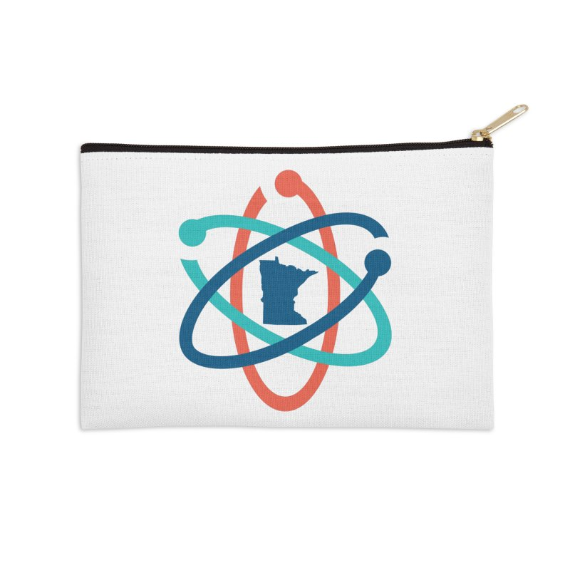 March for Science (no words) Accessories Zip Pouch by March for Science Minnesota Swag
