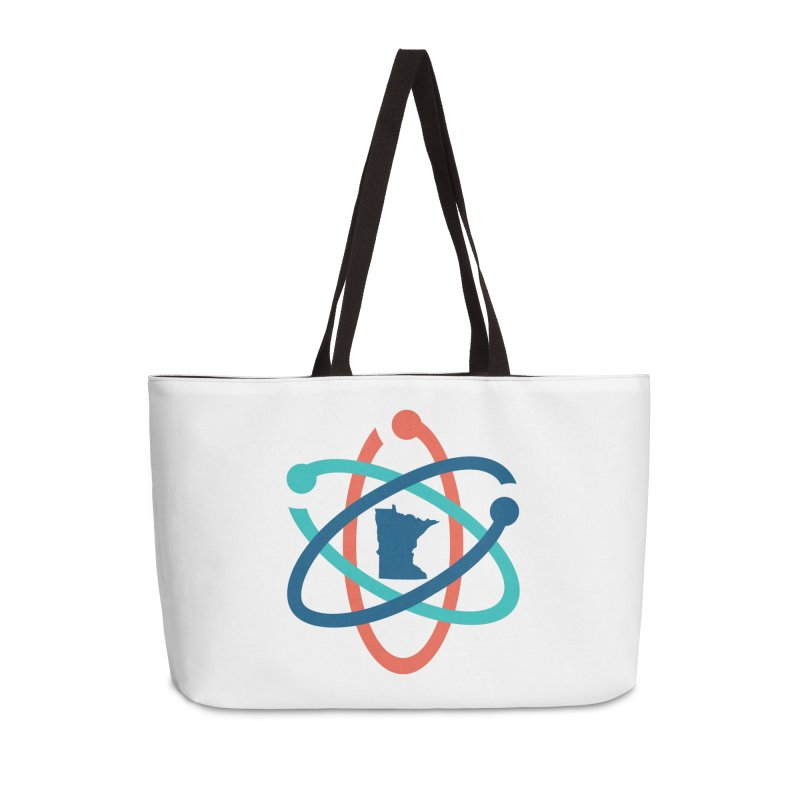 March for Science (no words) Accessories Weekender Bag Bag by March for Science Minnesota Swag