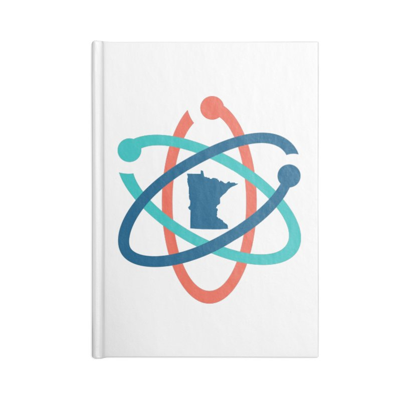March for Science (no words) Accessories Lined Journal Notebook by March for Science Minnesota Swag