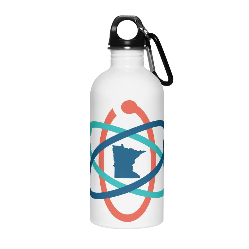 March for Science (no words) Accessories Water Bottle by March for Science Minnesota Swag
