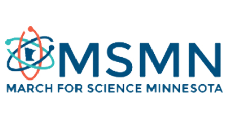 March for Science Minnesota Swag Logo