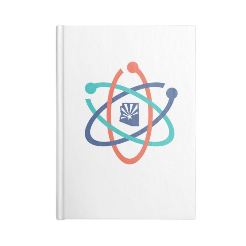 March for Science Phoenix Atom in Blank Journal Notebook by March for Science Phoenix Merch