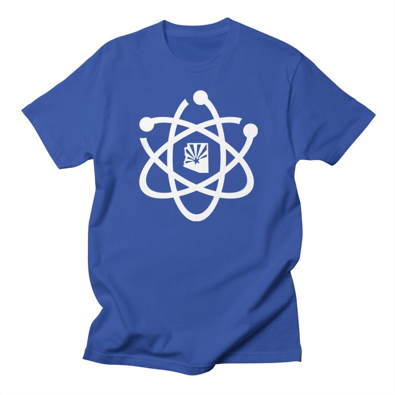 March for Science Phoenix Atom in Men's T-Shirt Royal Blue by March for Science Phoenix Merch