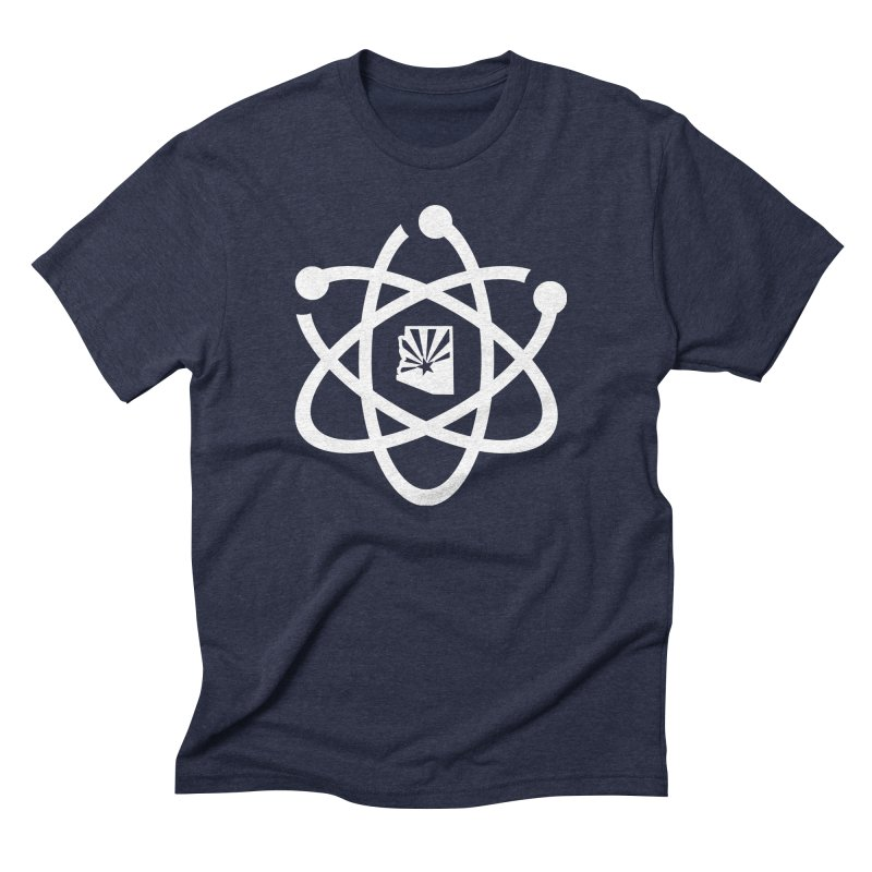 March for Science Phoenix Atom Men's Triblend T-Shirt by March for Science Phoenix Merch