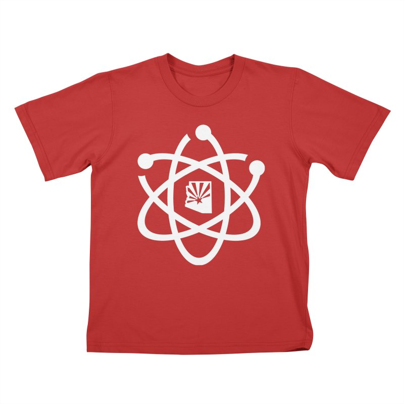 March for Science Phoenix Atom Kids T-Shirt by March for Science Phoenix Merch