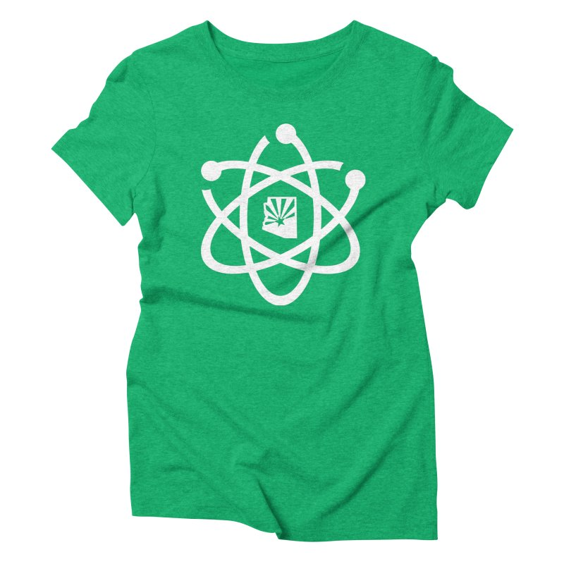 March for Science Phoenix Atom Women's Triblend T-Shirt by March for Science Phoenix Merch