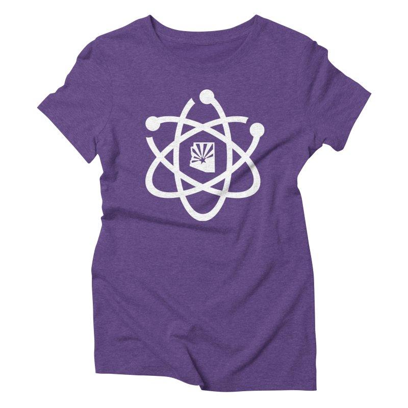 March for Science Phoenix Atom Women's Triblend T-Shirt by March for Science Phoenix Merch