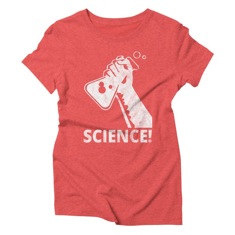 Science! Women's Triblend T-Shirt by March for Science Phoenix Merch