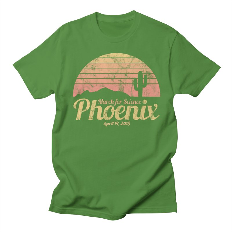 Sunrise - Limited Edition in Men's T-Shirt Clover by March for Science Phoenix Merch