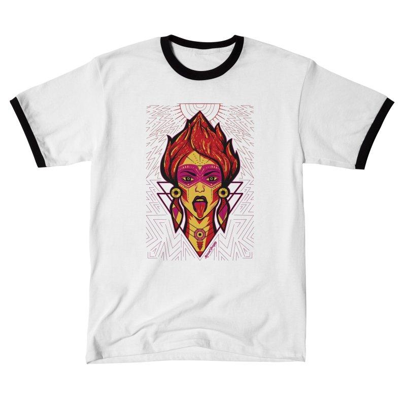 On Fire Men's T-Shirt by Marcial Artist Shop