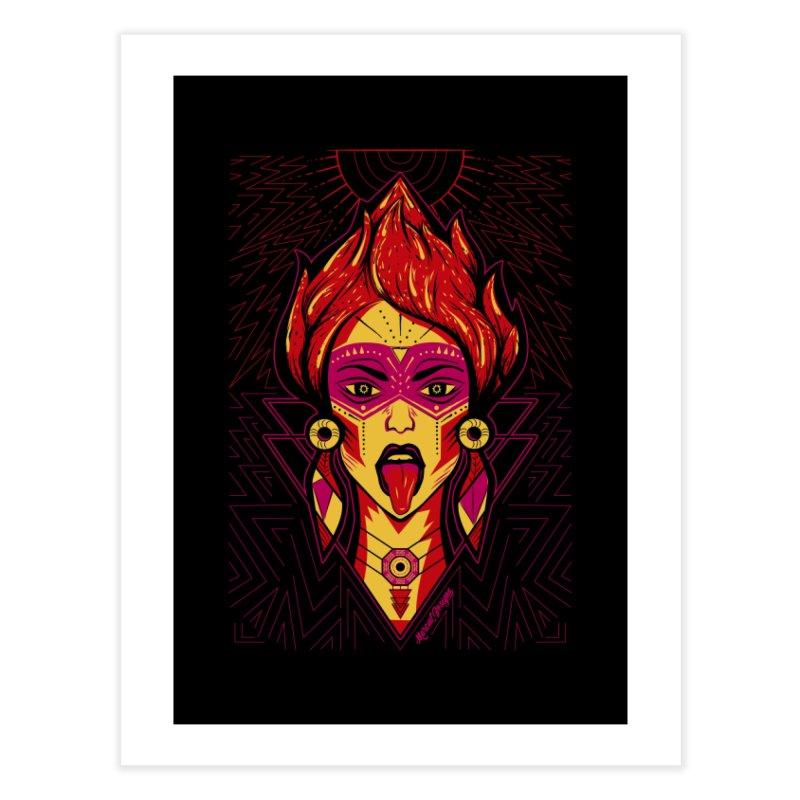 On Fire Home Fine Art Print by Marcial Artist Shop