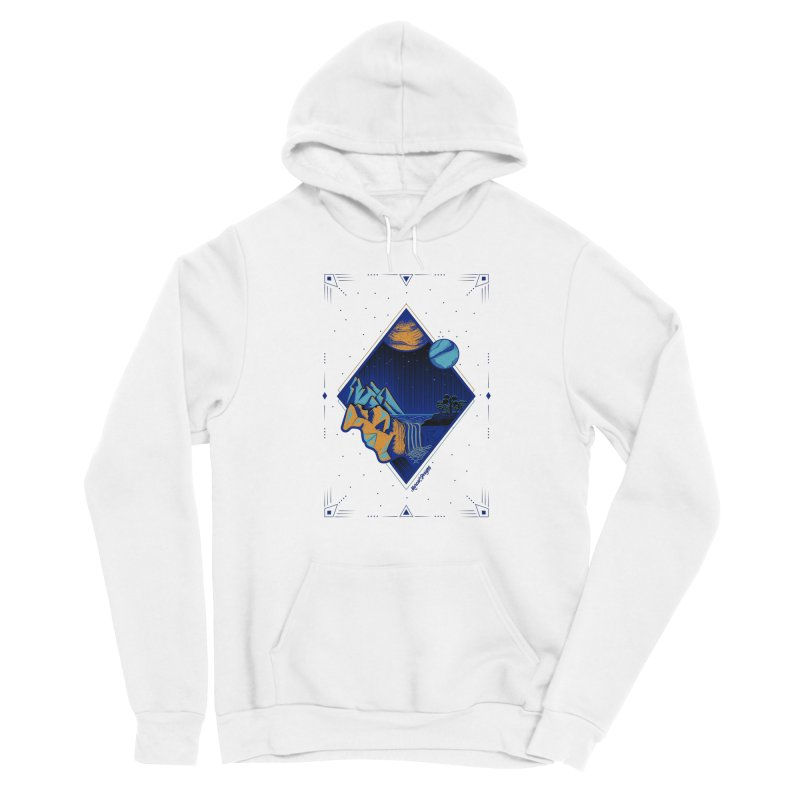 Imaginary world Women's Pullover Hoody by Marcial Artist Shop