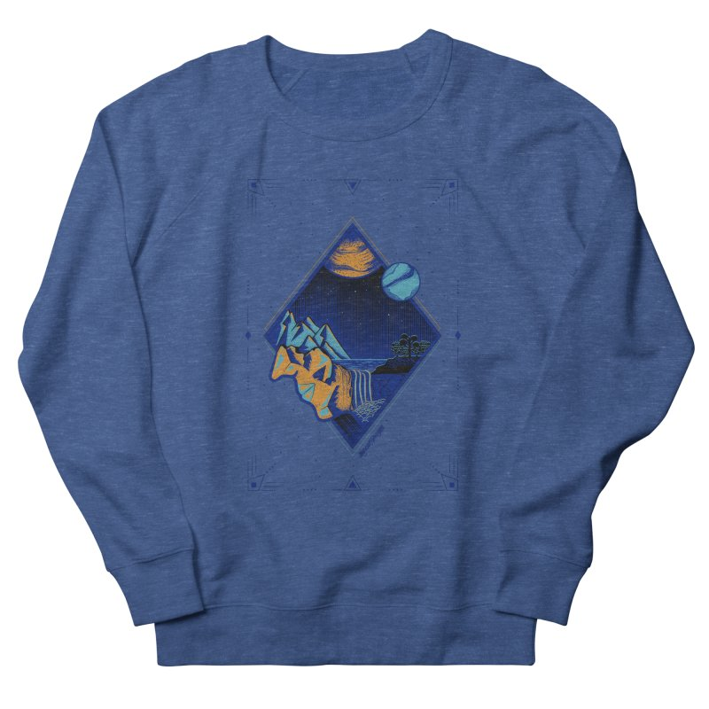 Imaginary world Men's Sweatshirt by Marcial Artist Shop