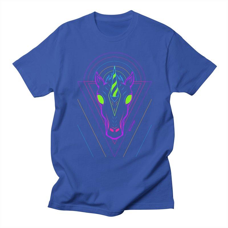 Unicorn Men's T-Shirt by Marcial Artist Shop