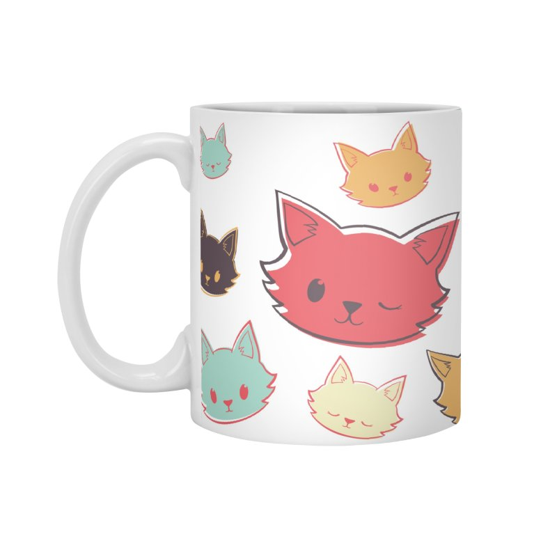 Kitty Wink Accessories Mug by Marci Brinker's Artist Shop