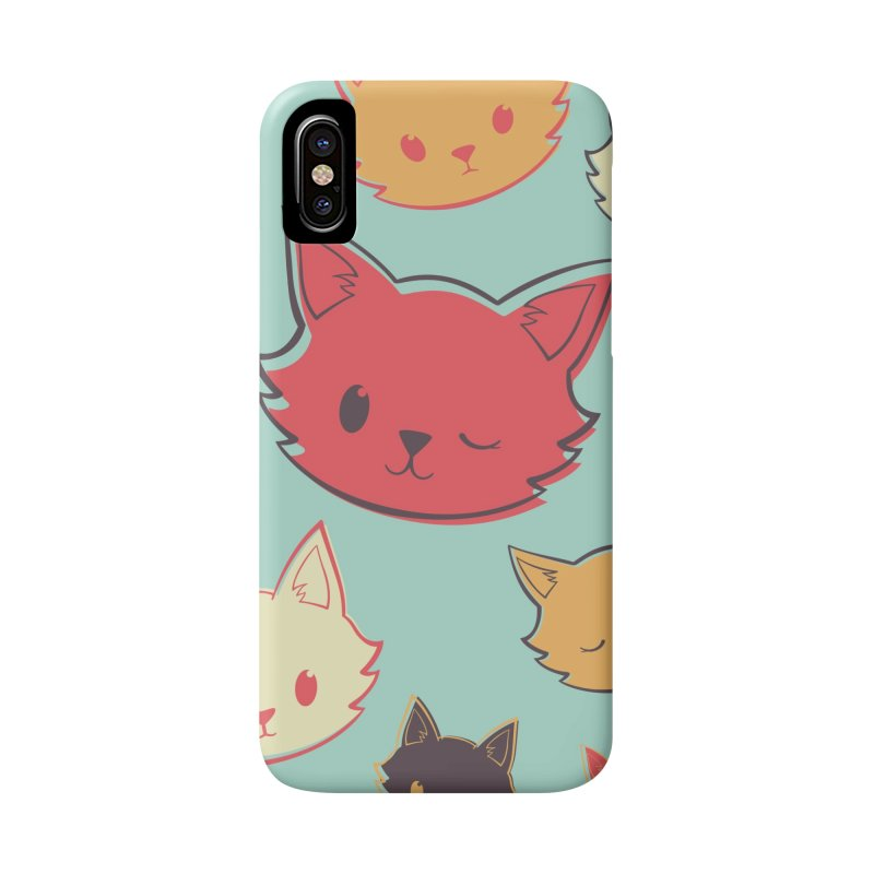 Kitty Wink Accessories Phone Case by Marci Brinker's Artist Shop