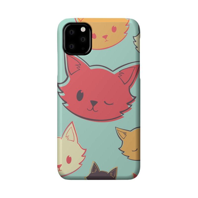 Kitty Wink Accessories Phone Case by Marci Brinker's Artist Shop