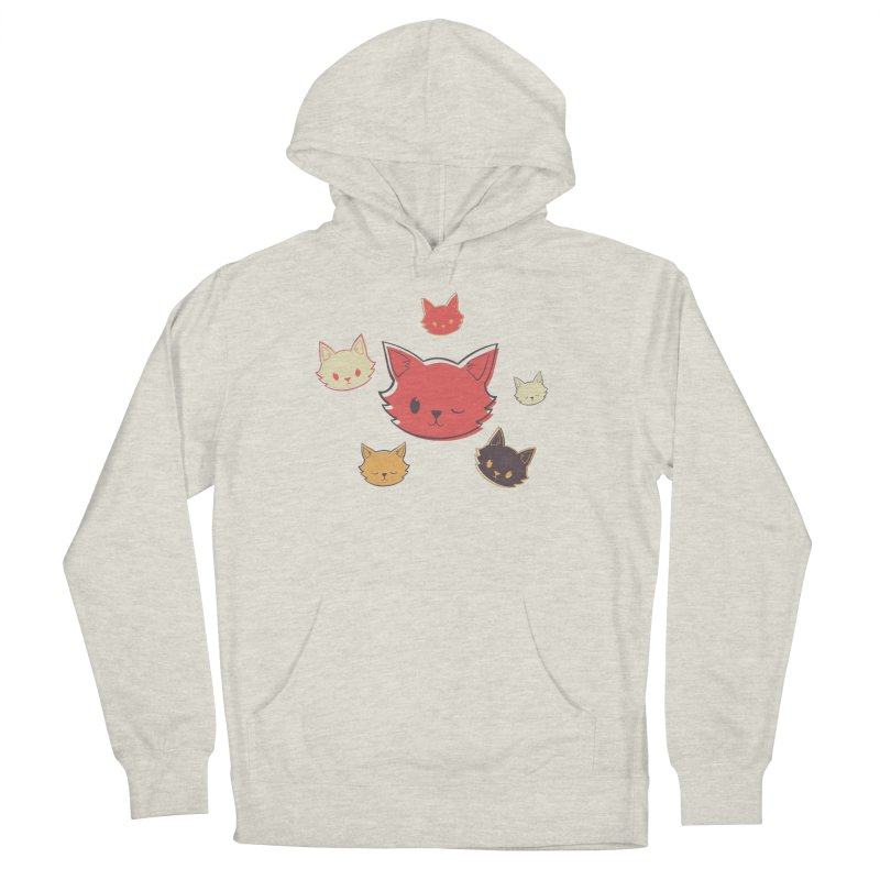 Kitty Wink Women's French Terry Pullover Hoody by Marci Brinker's Artist Shop
