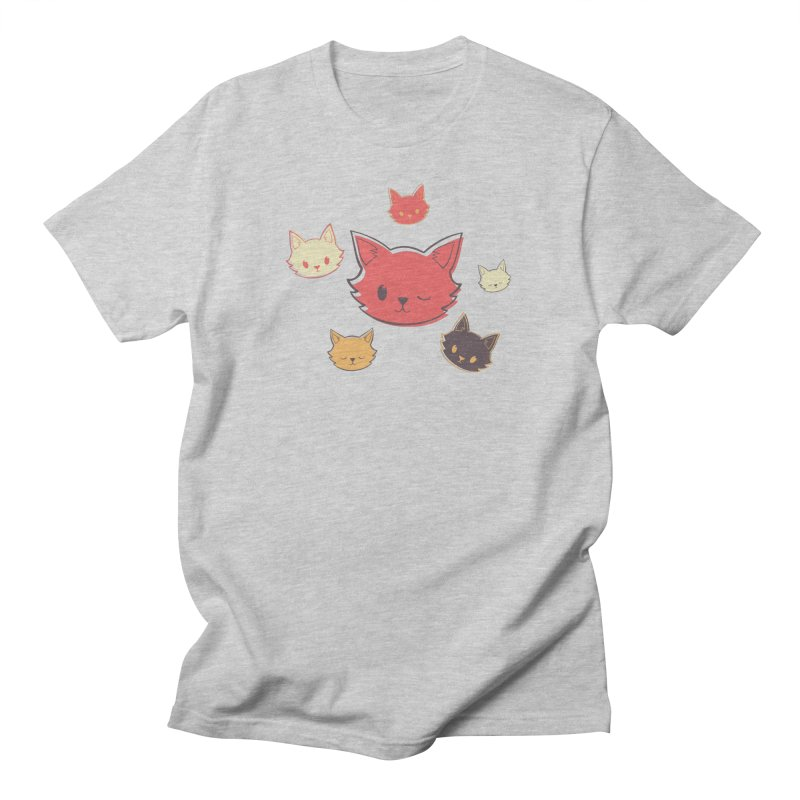 Kitty Wink Women's Regular Unisex T-Shirt by Marci Brinker's Artist Shop