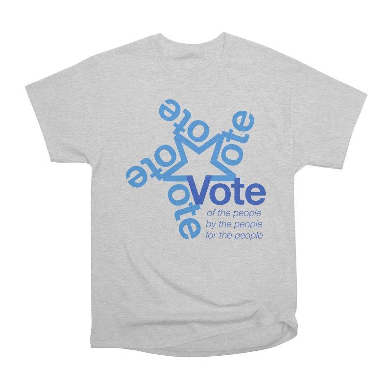 Vote star Men's Heavyweight T-Shirt by Marci Brinker's Artist Shop