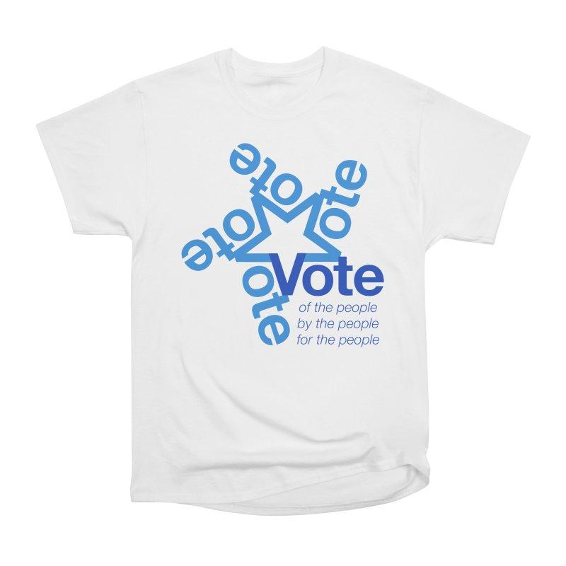 Vote star Women's T-Shirt by Marci Brinker's Artist Shop