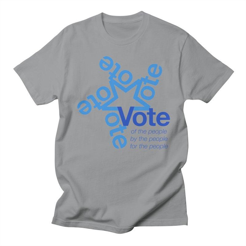 Vote star Women's Regular Unisex T-Shirt by Marci Brinker's Artist Shop