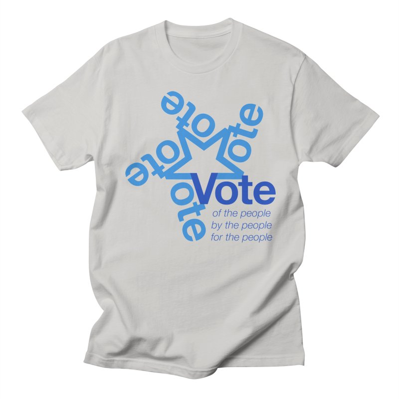 Vote star Men's T-Shirt by Marci Brinker's Artist Shop