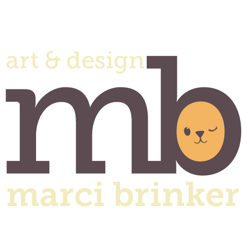Marci Brinker's Artist Shop Logo