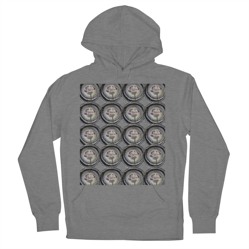 PREMIER ROSE LOGO Men's French Terry Pullover Hoody by Marc Kuegle's Artist Shop
