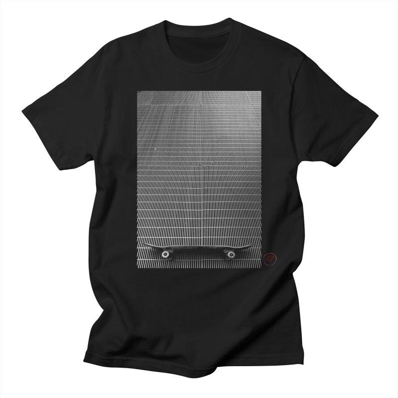 Shred Stick Men's Regular T-Shirt by Marc Kuegle's Artist Shop