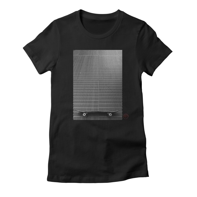 Shred Stick Women's T-Shirt by Marc Kuegle's Artist Shop