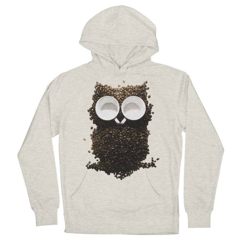 Hoot! Night Owl! Women's French Terry Pullover Hoody by Apparel by Marco aka ivejustquitsmoking