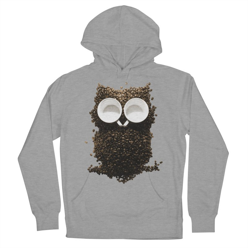 Hoot! Night Owl! Men's French Terry Pullover Hoody by Apparel by Marco aka ivejustquitsmoking