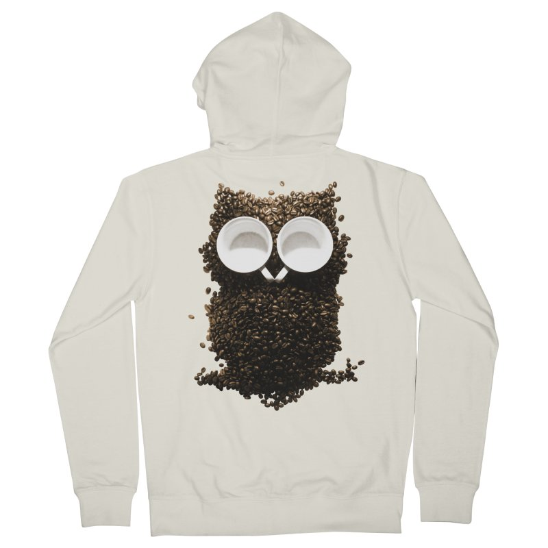 Hoot! Night Owl! Women's Zip-Up Hoody by Apparel by Marco aka ivejustquitsmoking