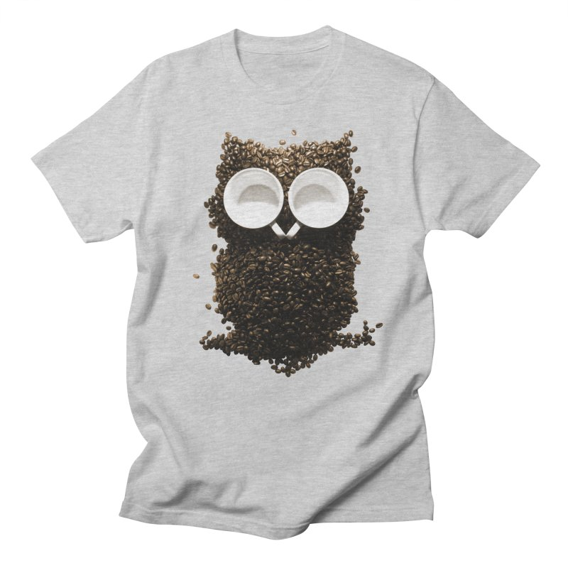 Hoot! Night Owl! Men's Regular T-Shirt by Apparel by Marco aka ivejustquitsmoking