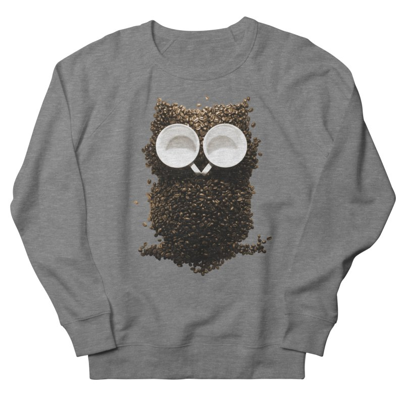 Hoot! Night Owl! Women's French Terry Sweatshirt by Apparel by Marco aka ivejustquitsmoking